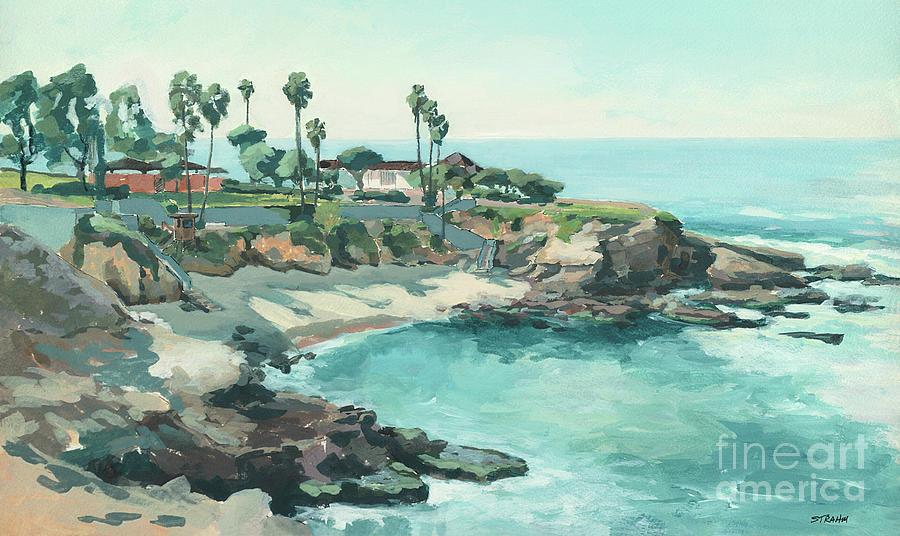 La Jolla Cove San Diego California by Paul Strahm