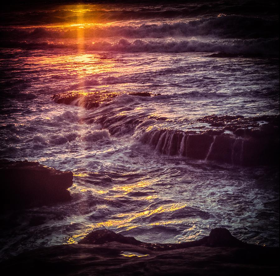 La Jolla Sunset-Color by Samuel M Purvis III