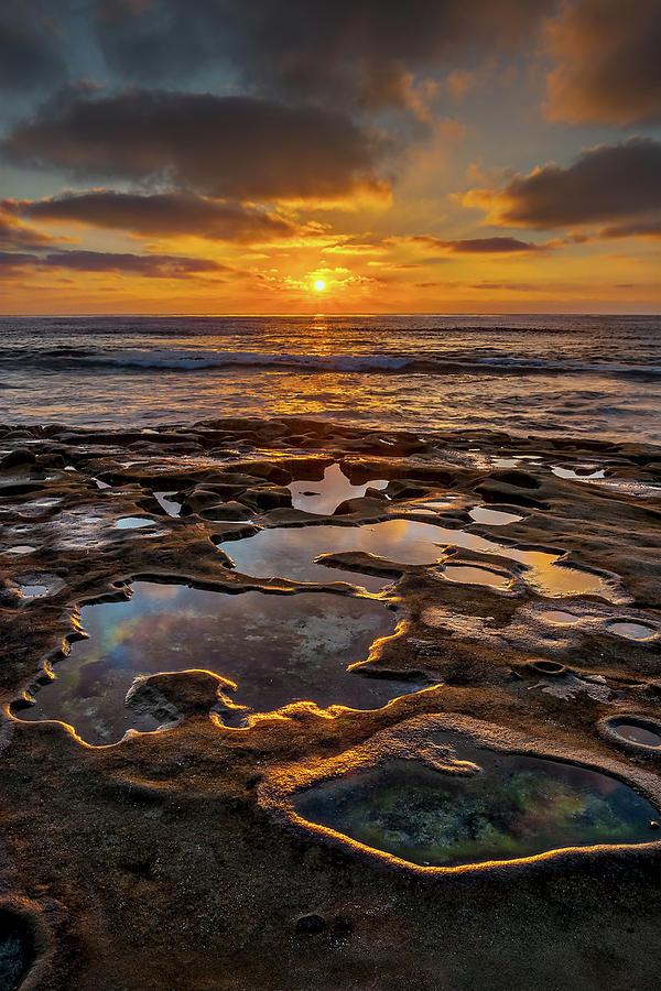 California Photograph - La Jolla Tidepools by Peter Tellone