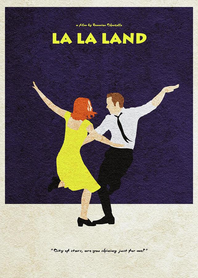 La La Land Alternative And Minimalist Poster
