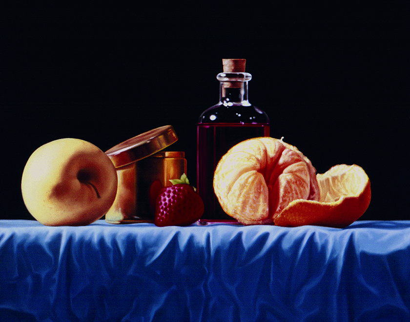La Lavande Rouge Painting by Marcel Franquelin