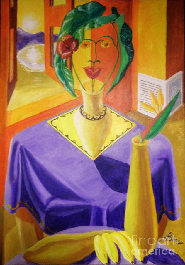 La Lecture Painting by David G Wilson