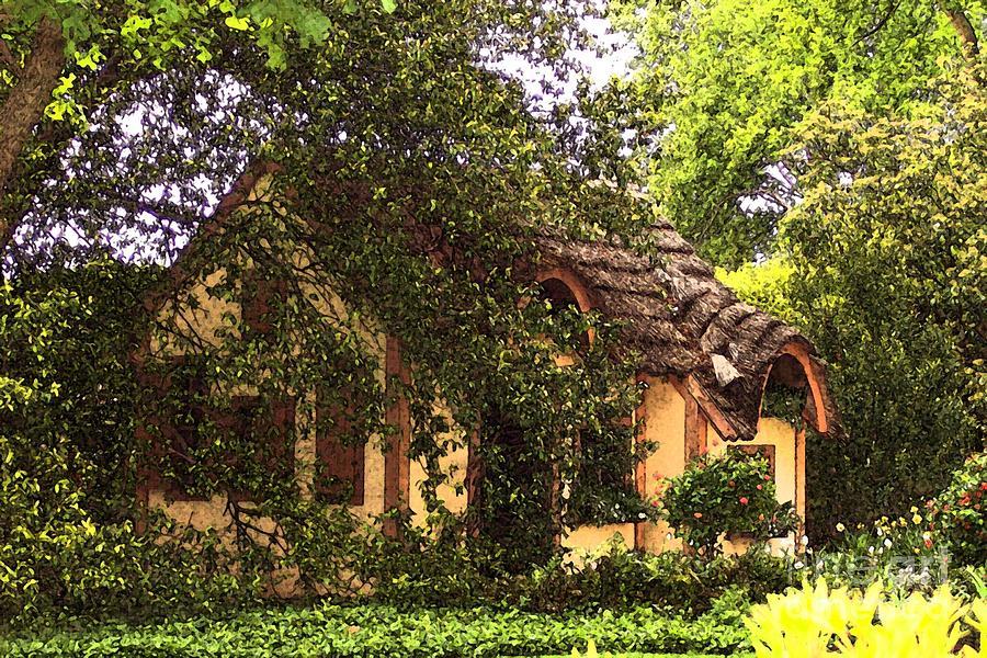 Cottage Photograph - La Maison by Debbi Granruth