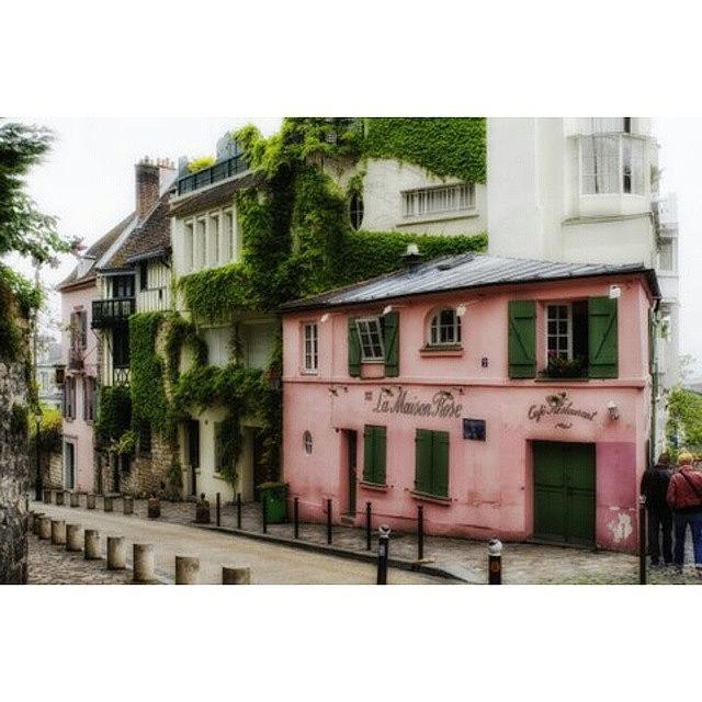Beautiful Photograph - La  Maison Rose by Georgia Fowler