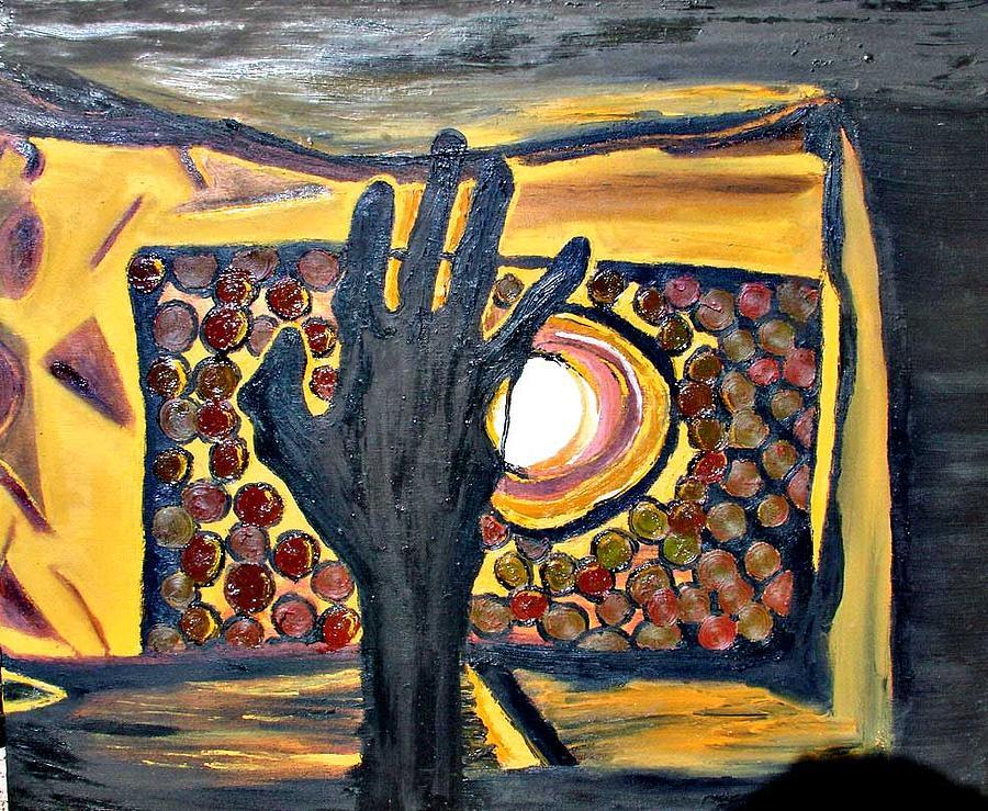 Still Life Painting - La Mano  by Sarita Brooks