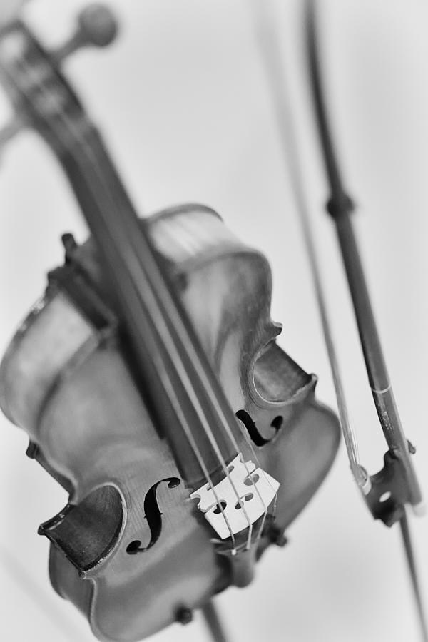 Violin Photograph - La Musique De Lame by Robert Hayton