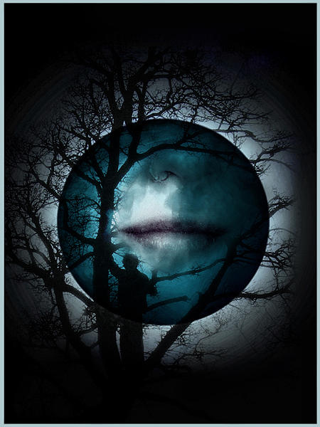 Moon Digital Art - La Notte Consola Il Mondo by Horizons Hef