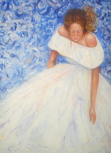 La Novia Painting by Vivian Gutierrez