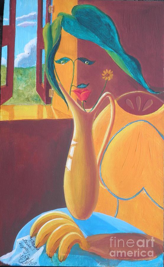 Interior Painting - La Penseuse by David G Wilson
