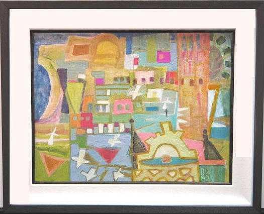 La Perla Caprice Painting by D G Reid