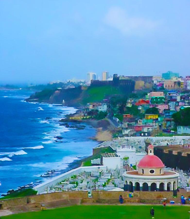 San Juan Photograph - La Perla In Old San Juan by Craig David Morrison