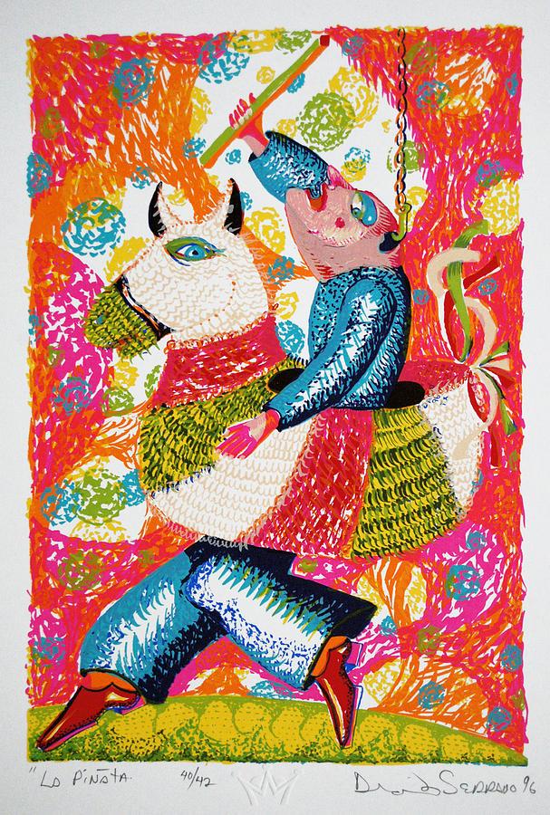 Serie Print - La Pinata by David Serrano