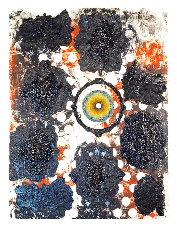 Symmetry Painting - La Pleureuse  by Howard Goldberg