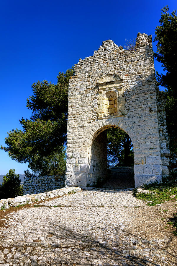 Provence Photograph - La Poterne In Allauch by Olivier Le Queinec