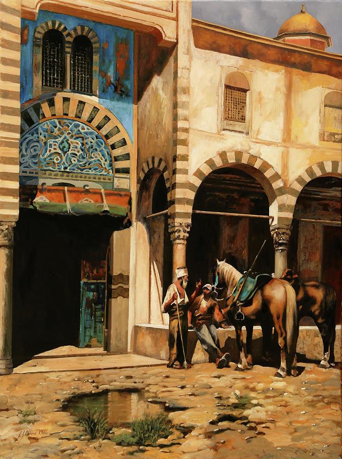La Pozzanghera Painting