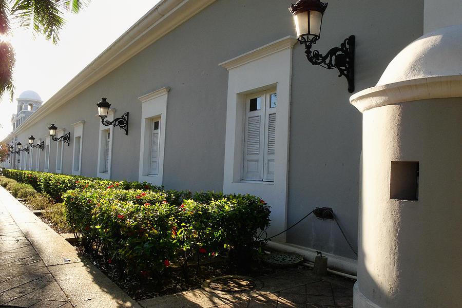Architecture Photograph - La Princesa Old San Juan Puerto Rico by George Oze