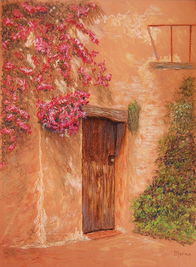 Landscapes Pastel - La Puerta by Marina Garrison