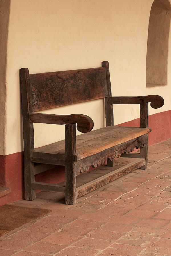 Cool La Purisima Mission Bench Pabps2019 Chair Design Images Pabps2019Com