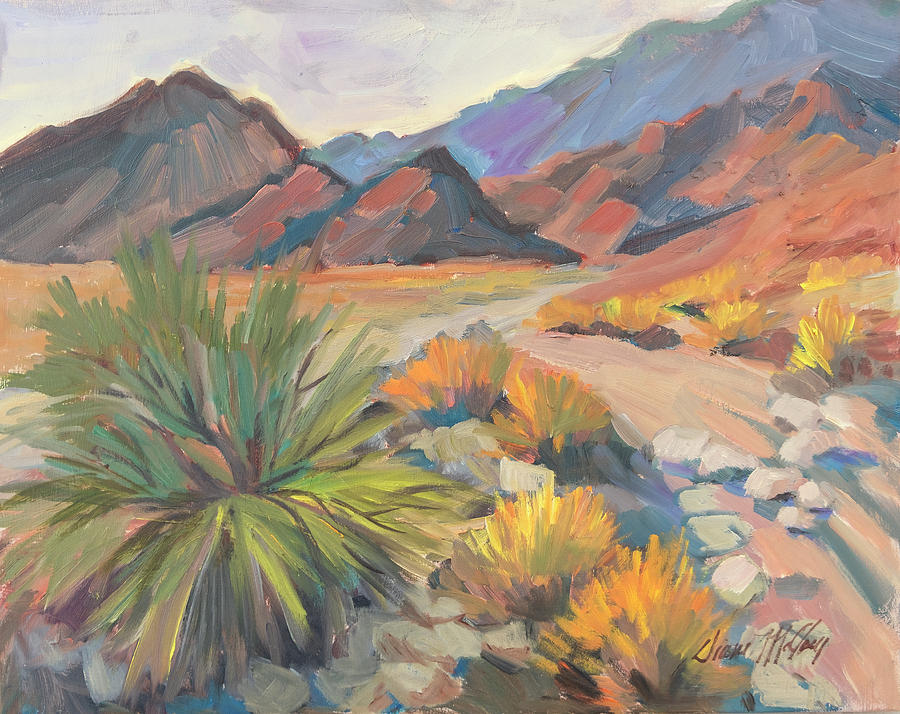 La Quinta Cove Hiking Trail by Diane McClary