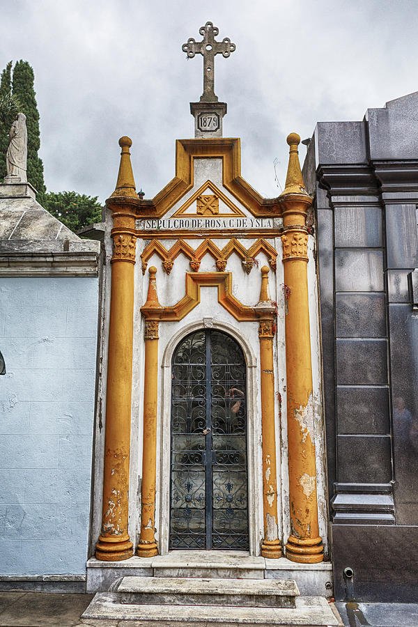 La Recoleta Cemetery Photograph