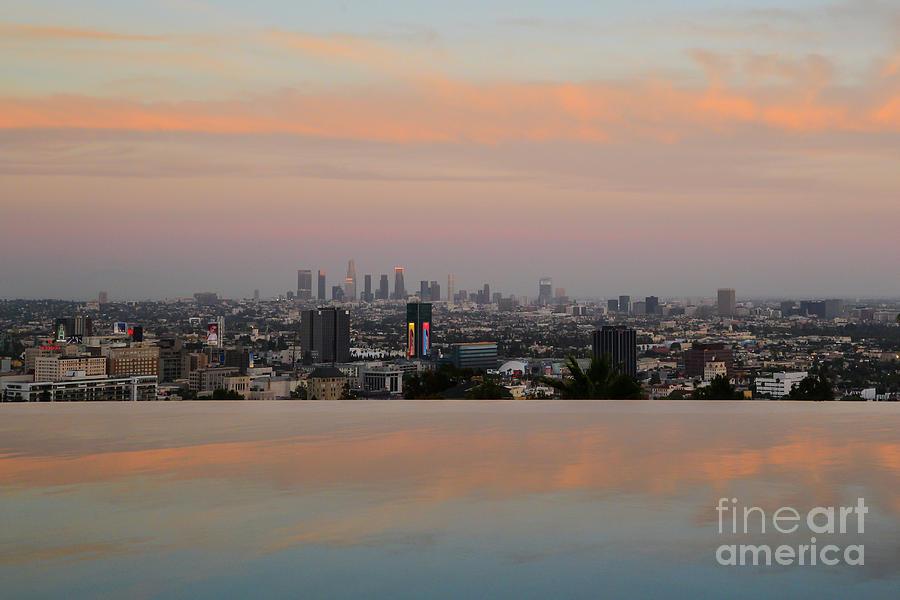 Los Angeles Photograph - La Reflections by Paul Quinn