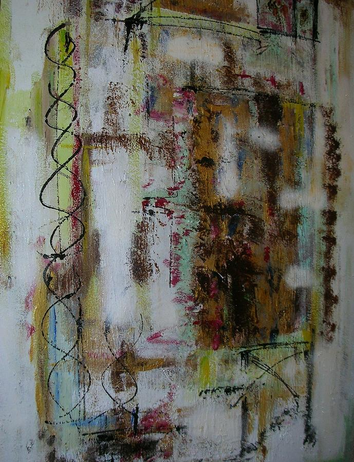 La Ruee Vers Lor Painting by Patrice Brunet