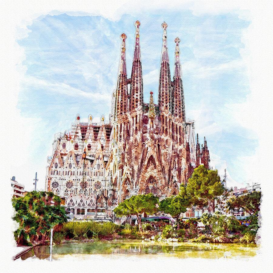 La Sagrada Familia by Marian Voicu