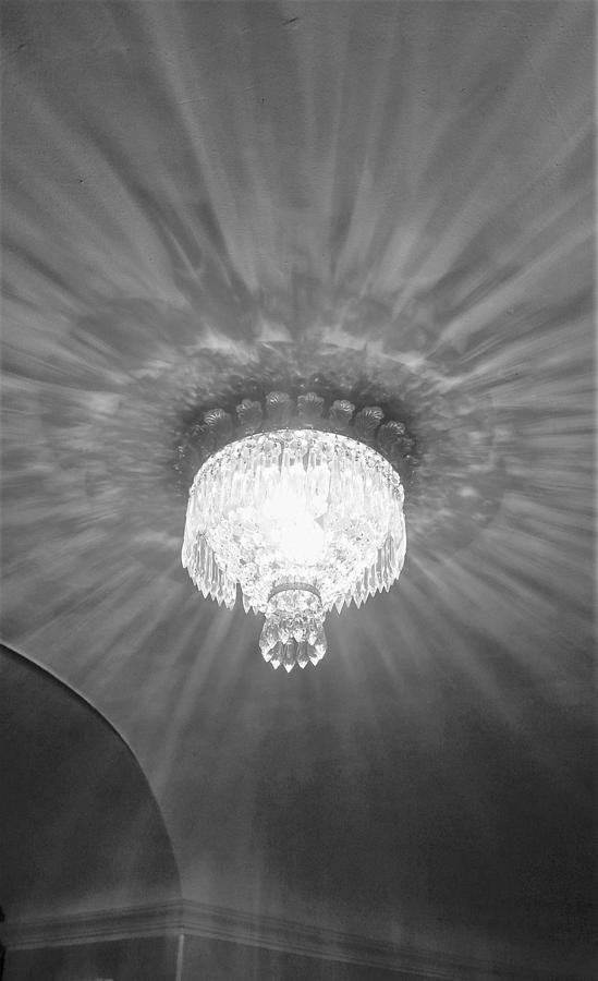 La scala chandelier photograph by nancy ferrier chandelier photograph la scala chandelier by nancy ferrier aloadofball Images
