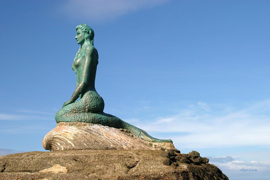 Mermaid Photograph - La Sirena Esterillos Oeste Costa Rica by Michelle Wiarda