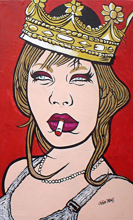 La Taf De La Reine Painting by Cristian Barnes