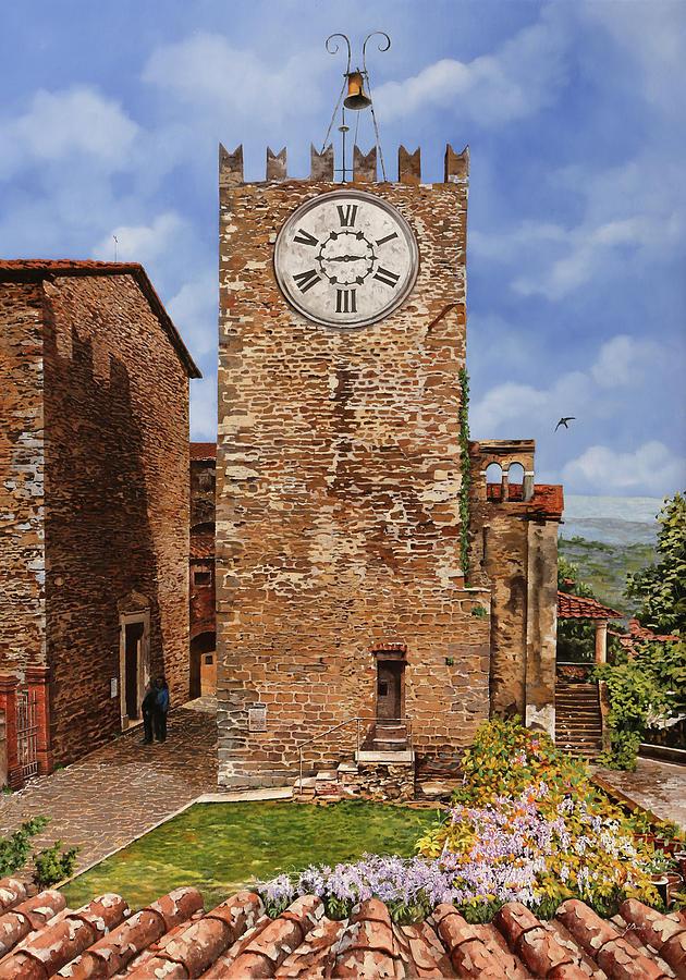 La Torre Del Carmine-montecatini Terme-tuscany Painting