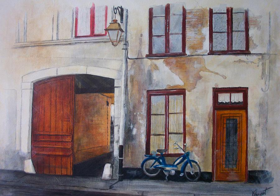 France Painting - La Vieille Maison by Victoria Heryet