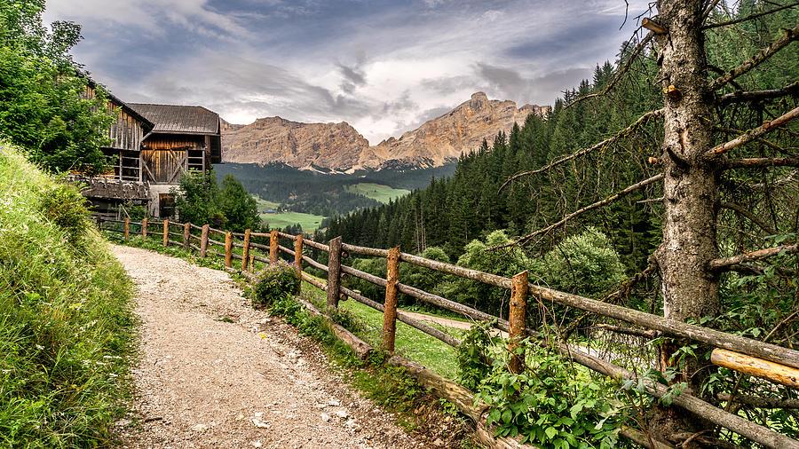 La Villa Trentino Alto Adige Italy Landscape Photography Photograph By Giuseppe Milo
