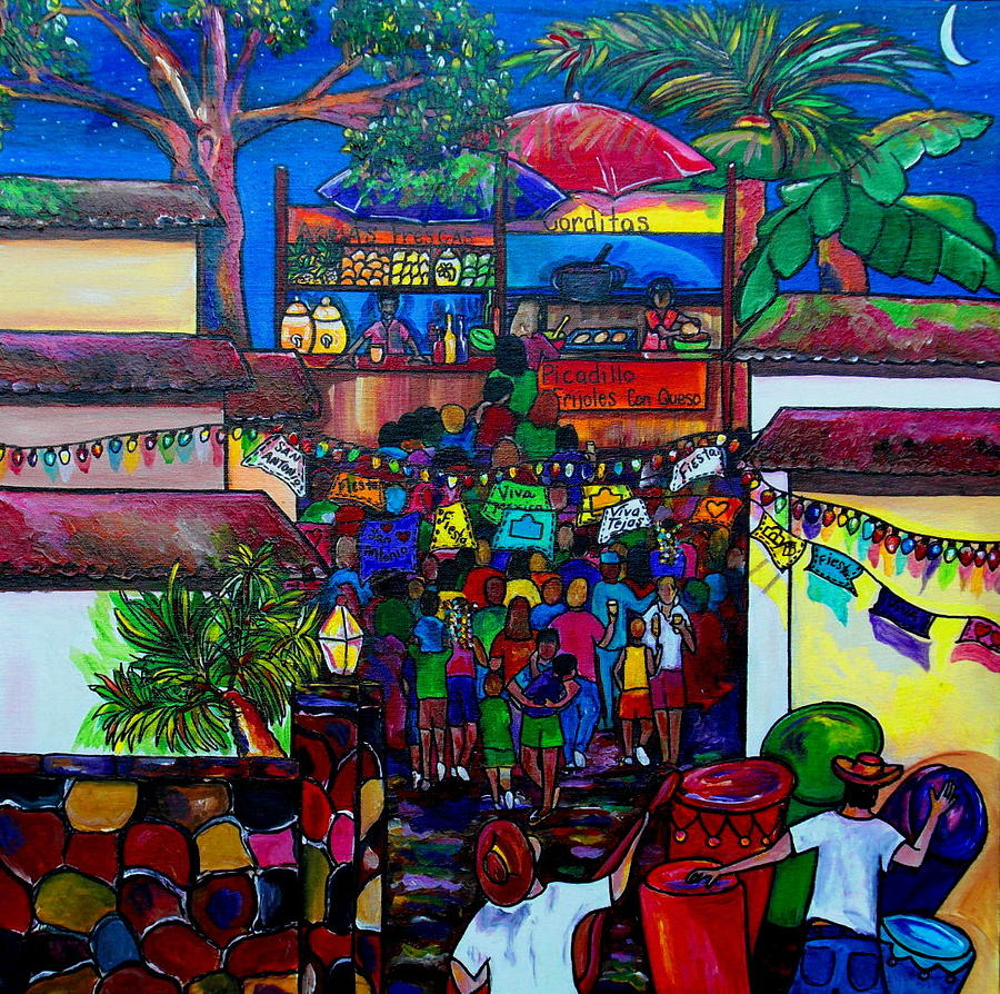 San Antonio Painting - La Villita by Patti Schermerhorn