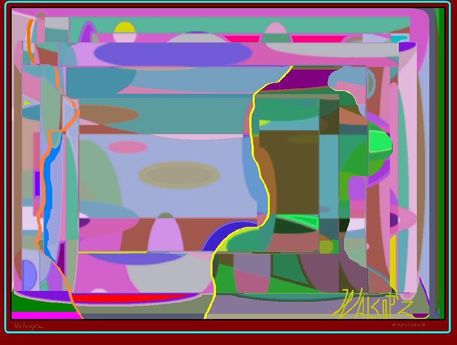 Dance Digital Art - La Voragine by Walcopz Valencia