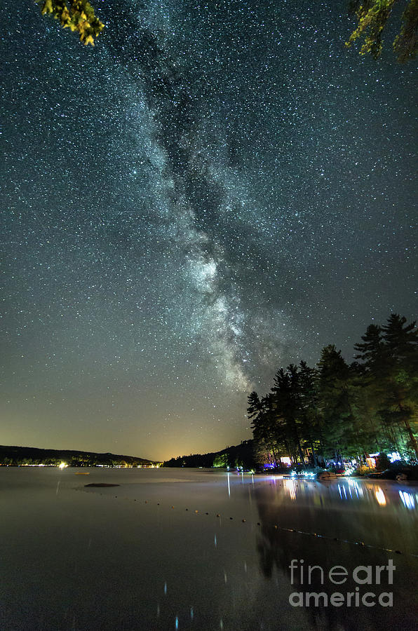 Labor Day Milky Way in Vacationland by Patrick Fennell