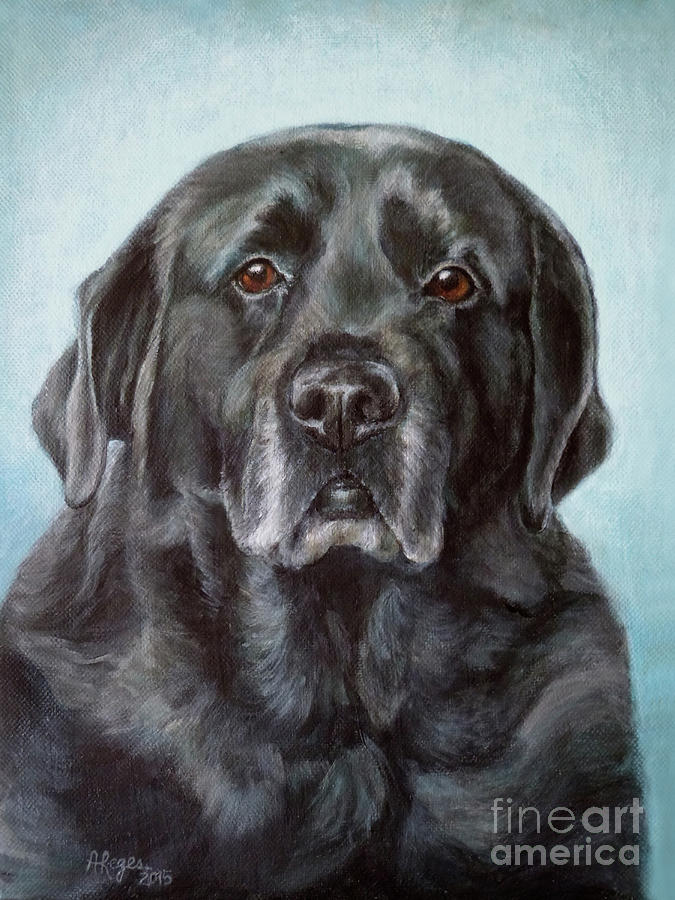 Labs Are The Most Sincere by Amy Reges