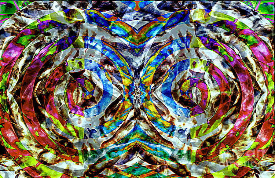 Labyrinth Painting - Labyrinth Of The Mind  by Jolanta Anna Karolska