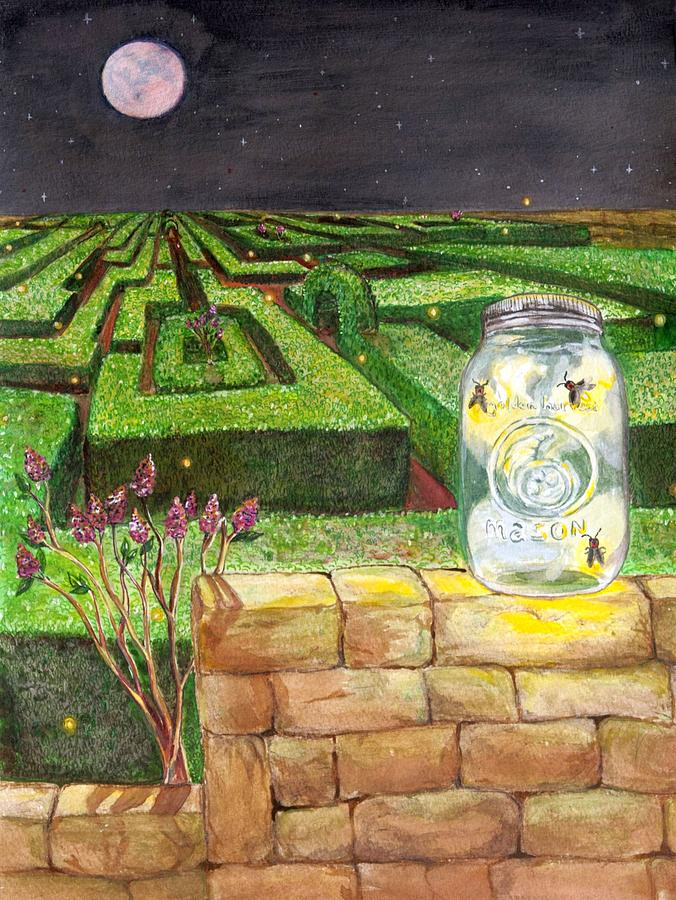 Labyrinth Painting - Labyrinth by Starr Weems