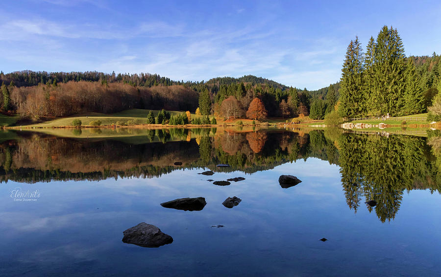 Lac Genin, Jura, France by Elenarts - Elena Duvernay photo