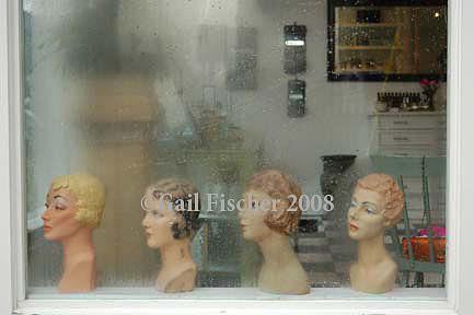 Heads Photograph - Ladies At The Salon by Gail Fischer