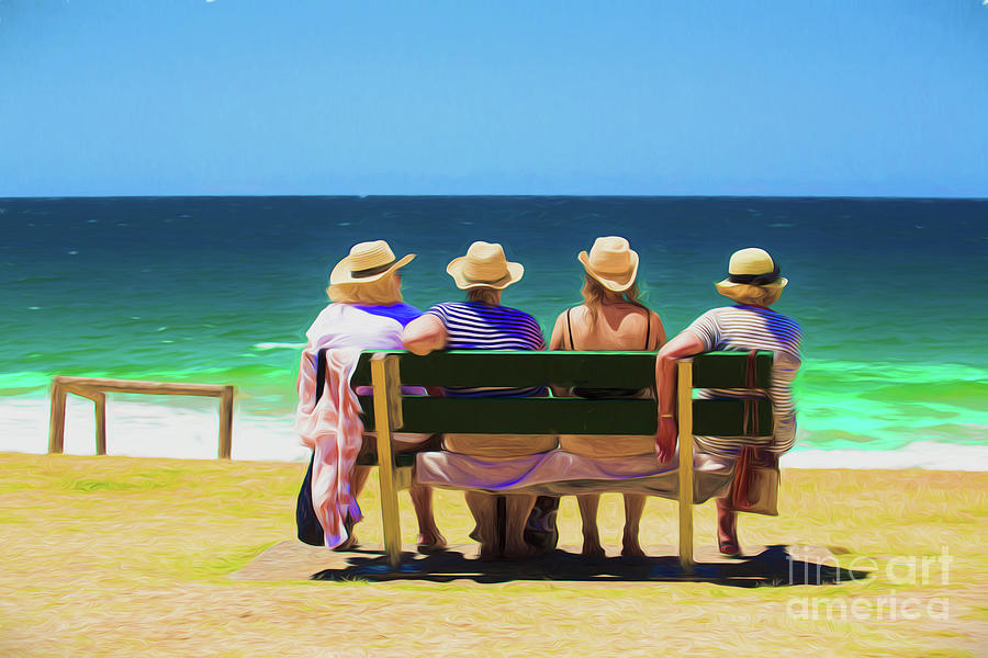 Ladies In Hats Photograph - Ladies Day Out by Sheila Smart Fine Art Photography