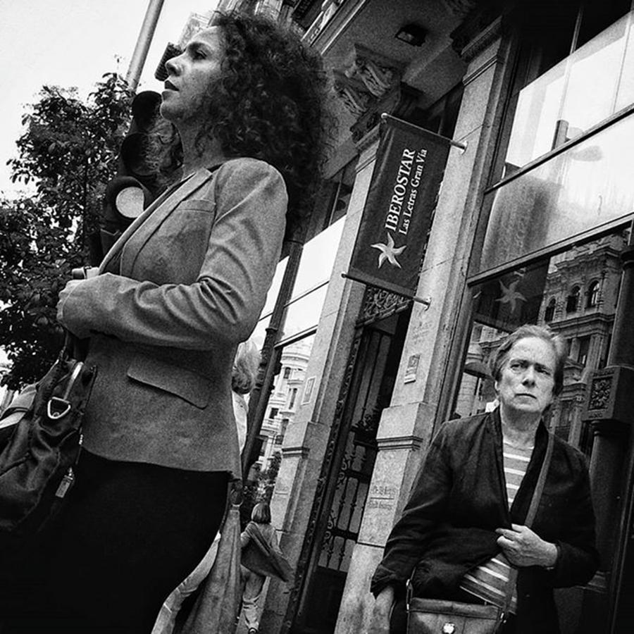 City Photograph - Ladies Duel  #woman #women #fashion by Rafa Rivas