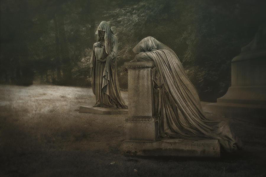 Lake View Photograph - Ladies of Eternal Sorrow by Tom Mc Nemar