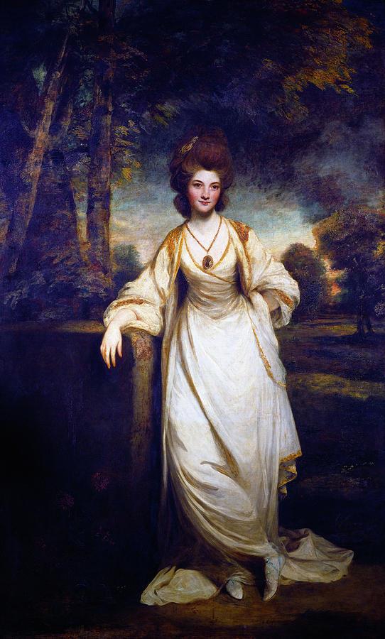 Lady Elizabeth Compton Painting By Sir Joshua Reynolds