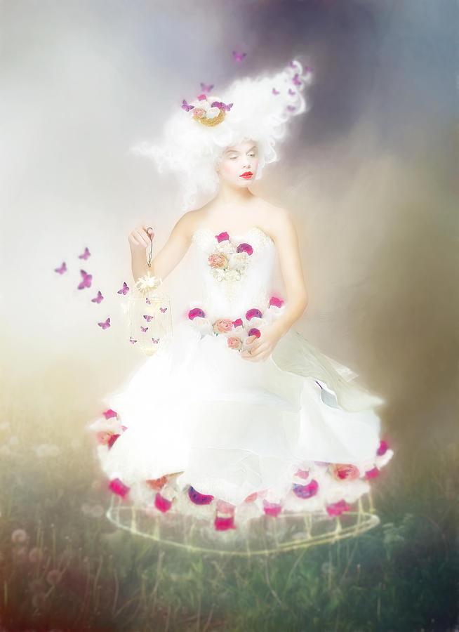 Lady Flutterby by Karen Koski