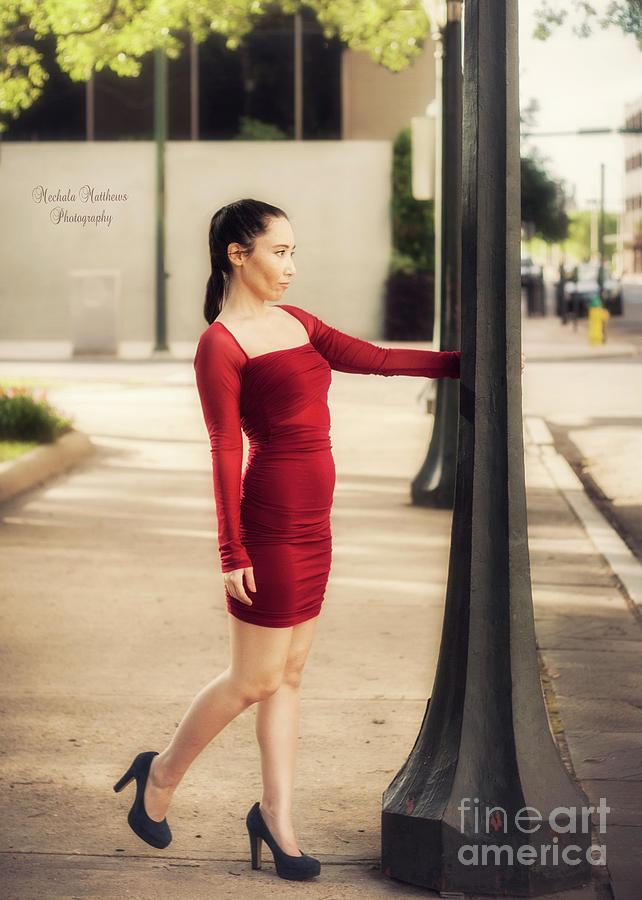 Lady in Red by Mechala Matthews