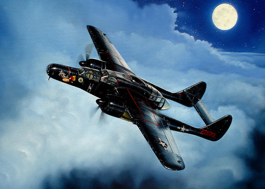Military Painting - Lady in the Dark by Marc Stewart