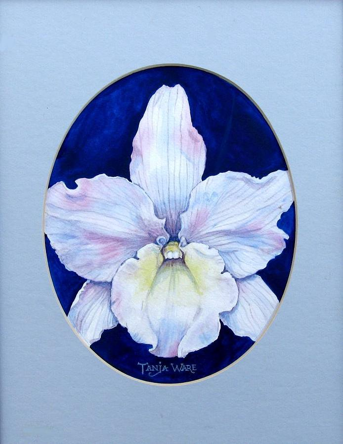 Floral Painting - Lady In White by Tanja Ware