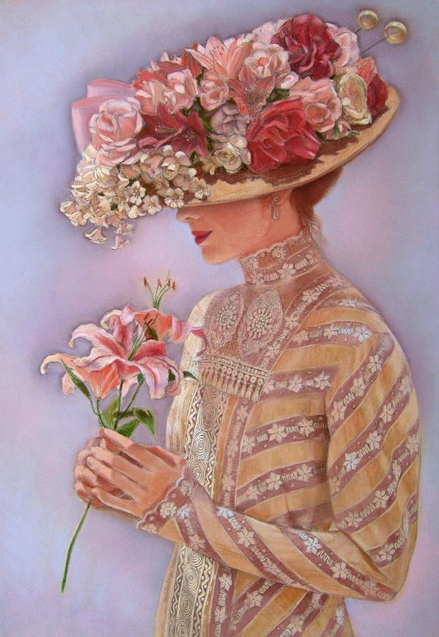 Elegant Painting - Lady Jessica by Sue Halstenberg